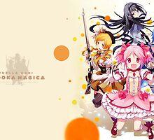 Madoka Magica by Truewisteria