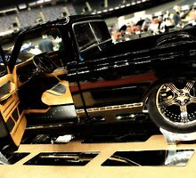 Custom Truck in Mirror Black by BeautifulYouArt