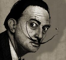 Dali Portrait by barruf