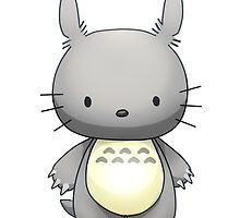 Totoro Hello Kitty by Opeiaa
