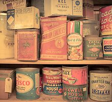 Vintage Food Pantry by Edward Fielding