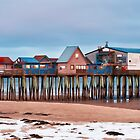 Winter Pier by Richard Bean
