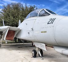 Retired Fighter Jet by BeautifulYouArt