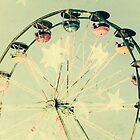 Whimsical Ferris Wheel by Elizabeth Thomas