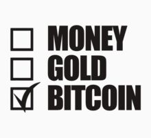Money Gold Bitcoin Tick Box  by NibiruHybrid