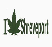 0257 I Love Shreveport by Ganjastan