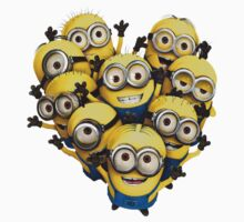 THE MINIONS white by Andha Y R