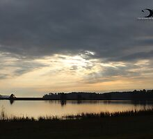 Sunrise in Jamestown Va by 2Canons