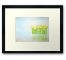 fairy by the water  * special order prints: tokikoandersonart@gmail.com Framed Print