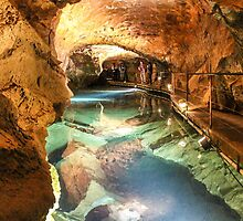 The River Styx - Jenolan Caves by Andrew Dodds