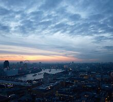 London as seen from St. Paul's by LCarmody