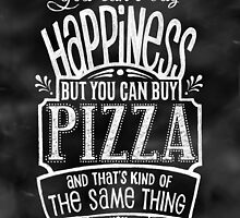 Pizza Lover's Poster - Chalkboard Style by Rockinchalk