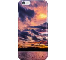 Sunset colors iPhone Case/Skin