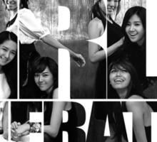 Girls Generation - Image Font Sticker