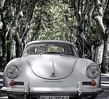 on the road with a 356 by Jo-PinX