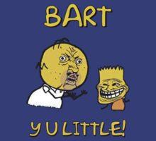 Y U Little Homer + Bart Simpson Mashup Meme by NibiruHybrid
