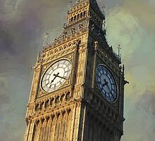 ICONIC BIG BEN of LONDON by Daniel-Hagerman