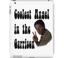 Coolest Angel in the Garrison iPad Case/Skin