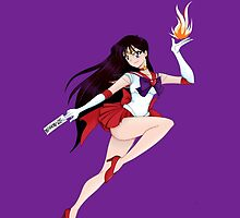 Super Sailor Mars by AliceScythe