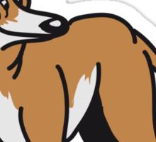 crook dog Sticker