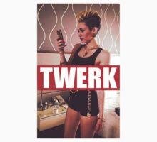 Miley Cyrus Twerk Team Fresh New by paulieeeb