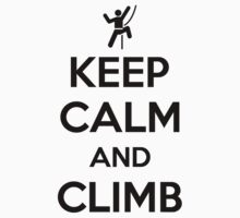 Keep calm and climb on by nektarinchen