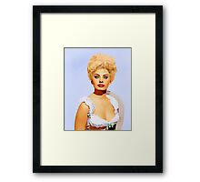 Sophia Loren in Heller in Pink Tights Framed Print