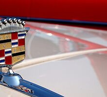 1953 cadillac badge by andalaimaging