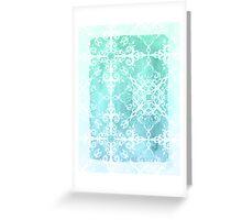 Mermaid's Lace Greeting Card