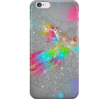 To Have Faith Is To Have Wings (Neon Wings Series V / Abstract) iPhone Case/Skin