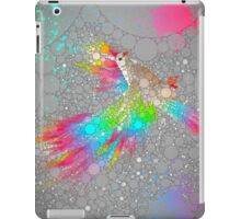 To Have Faith Is To Have Wings (Neon Wings Series V / Abstract) iPad Case/Skin