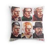 The Biffs Throw Pillow