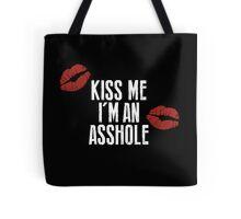 True Detective - Kiss Me, I'm an Asshole Tote Bag