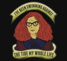 I've Been Swimming Against the Tide My Whole Life by printproxy