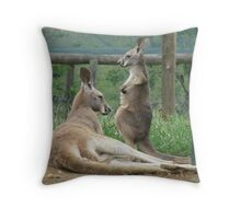 Do I Have A Pouch Mum? Throw Pillow