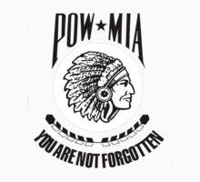 POW-MIA-NA (Black Lettering) by jdw2911