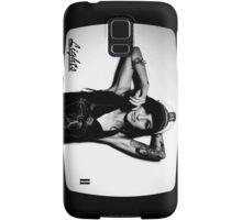 Lights Poxleitner Black And White Portrait  Samsung Galaxy Case/Skin