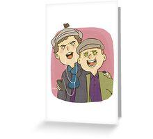 Ben & Martin Greeting Card