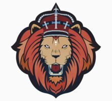 Crowned Lion by corvusdesign