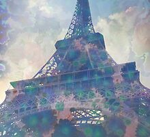 Eiffel Tower by ArtByRuta