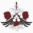Team Free Will by natabraska
