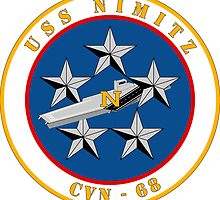 USS Nimitz - CVN 68 by VeteranGraphics