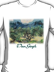 Vincent Van Gogh - Olive Trees with the Alpilles T-Shirt
