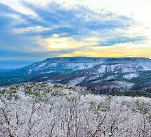 Icy Mount Nebo by TamiamPhoto