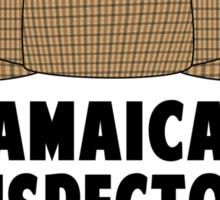 Jamaican Inspector Man Sticker