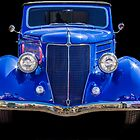 Blue Ford by George Lenz