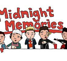 Midnight Memories by bryandraws