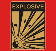 Explosive Warning Sign by squidgun