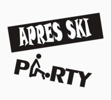 apres ski, ski, party, winter, snowboard,ride,hut by fuckthenorm