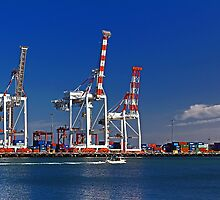 Fremantle Harbour - Western Australia  by EOS20
